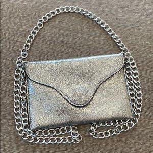 JJ winters silver small purse bag chain strap